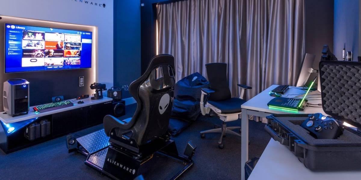 Alienware construyó una habitación de hotel para