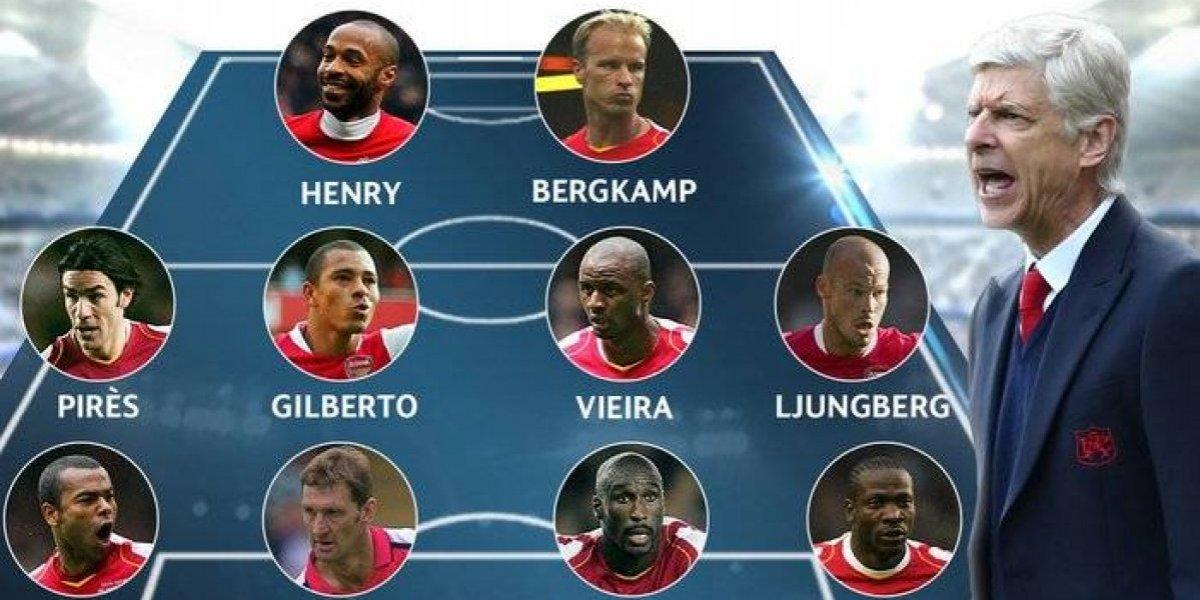 ¿Se olvidaron de Alexis? Eligen el equipo ideal de Wenger en el Arsenal sin el chileno