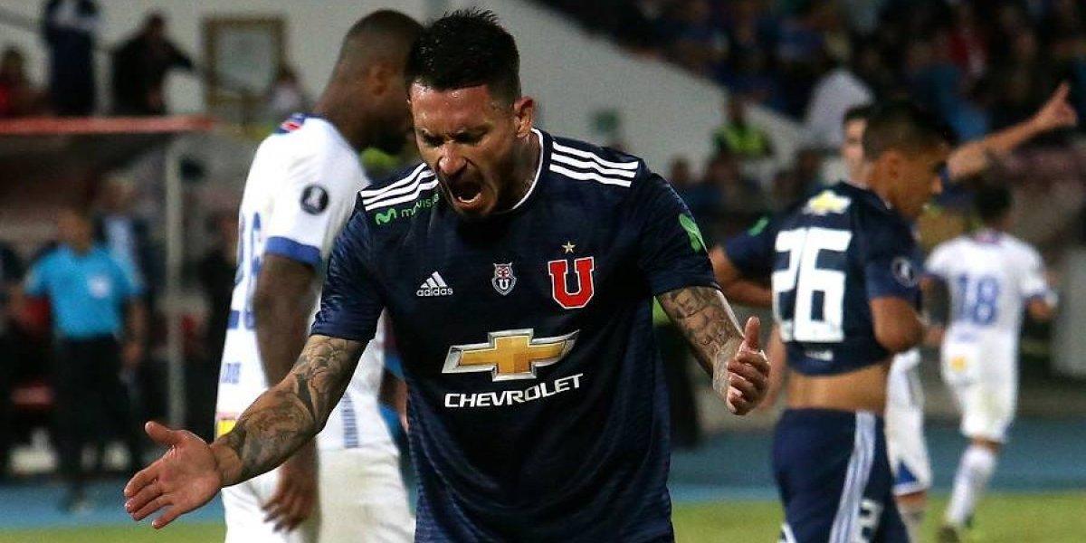 Trastienda de la U en la Libertadores: Pinilla y Vaz terminaron furiosos ante el ingrato empate en el Nacional