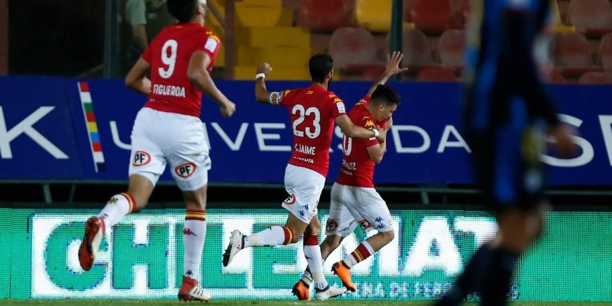 Unión Española sigue en alza al lograr su tercer triunfo consecutivo de la mano de Huachipato