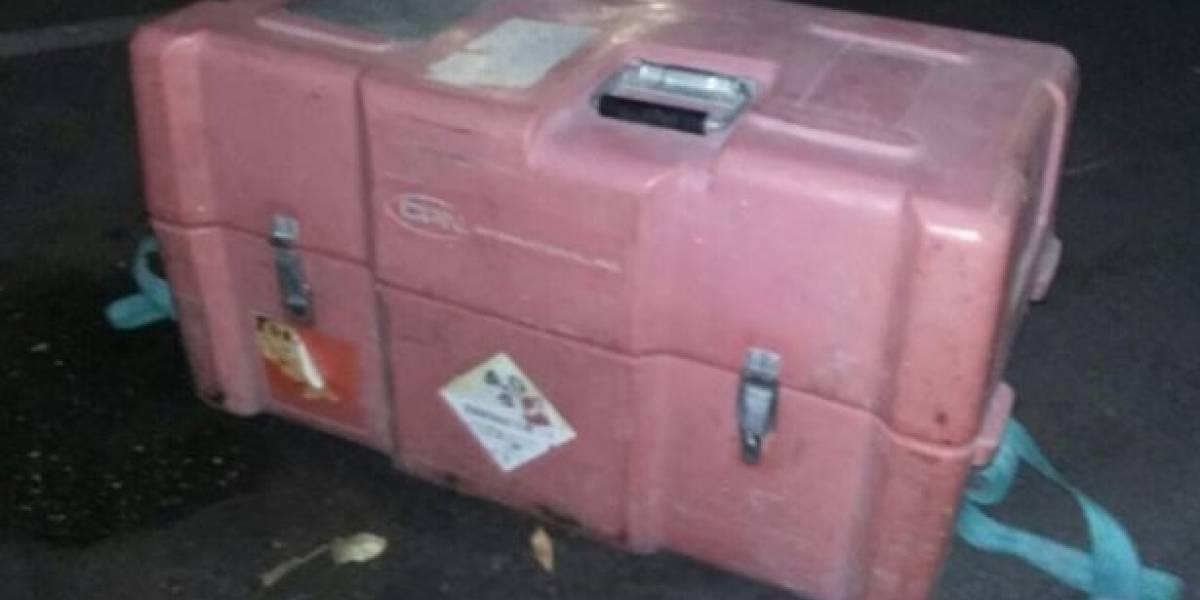 Encuentran en Celaya fuente radiactiva robada