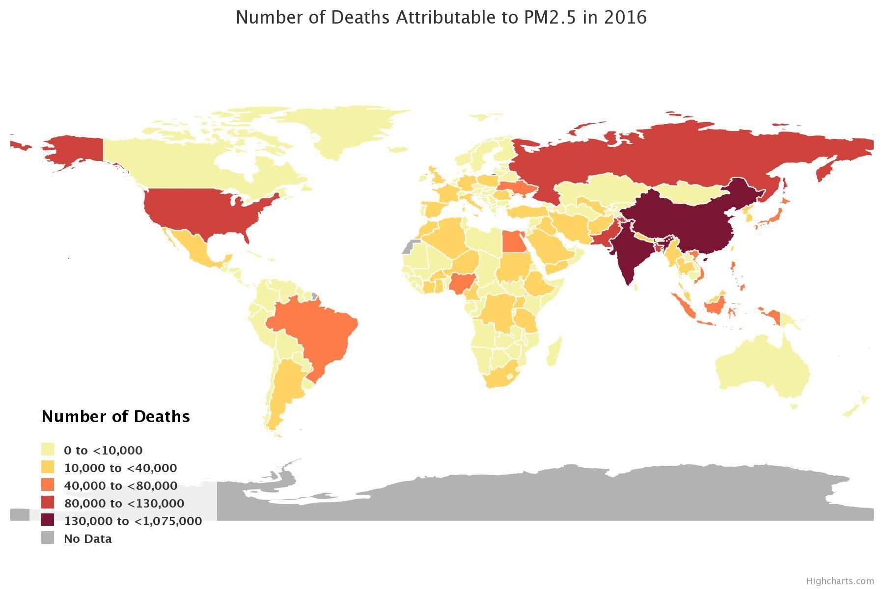 Muertes por PM25