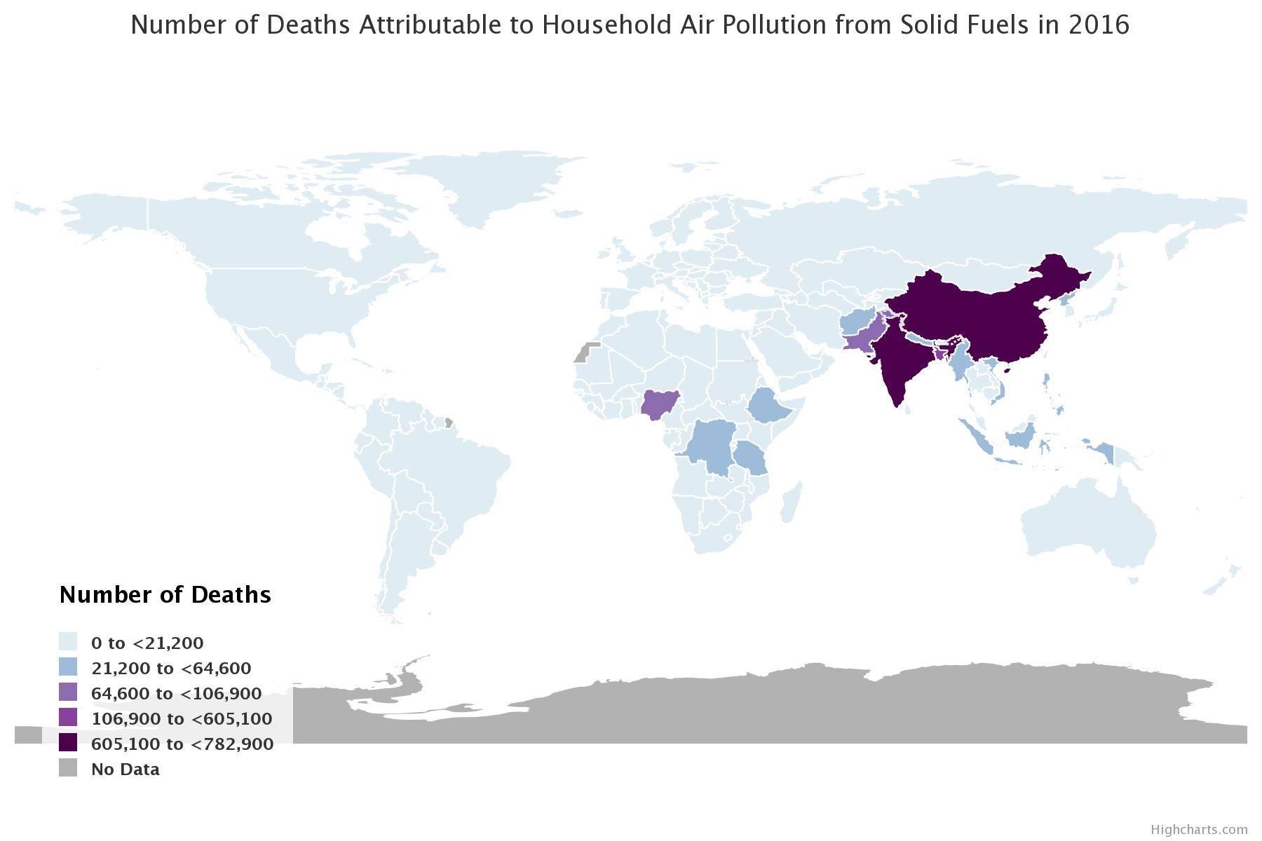 Muertes relacionadas con la contaminación en el aire han aumentado en un 50% en tal solo 4 años