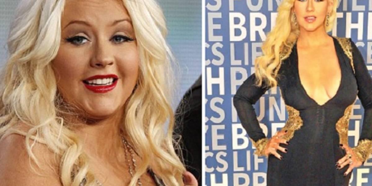El increíble antes y después de estas celebridades que bajaron de peso