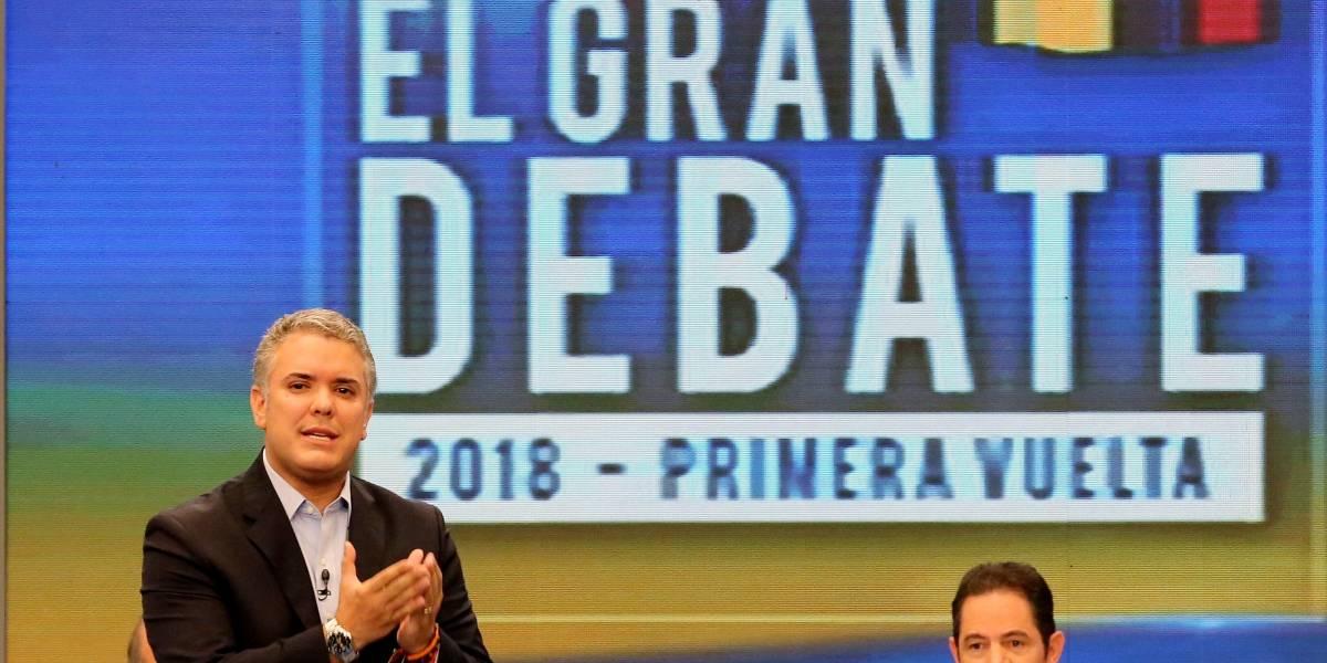 Se conoce la razón por la que RCN presentó comercial de Iván Duque en medio del debate
