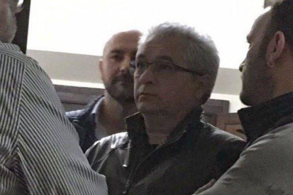 Tomás Yarrington en el momento de su detención