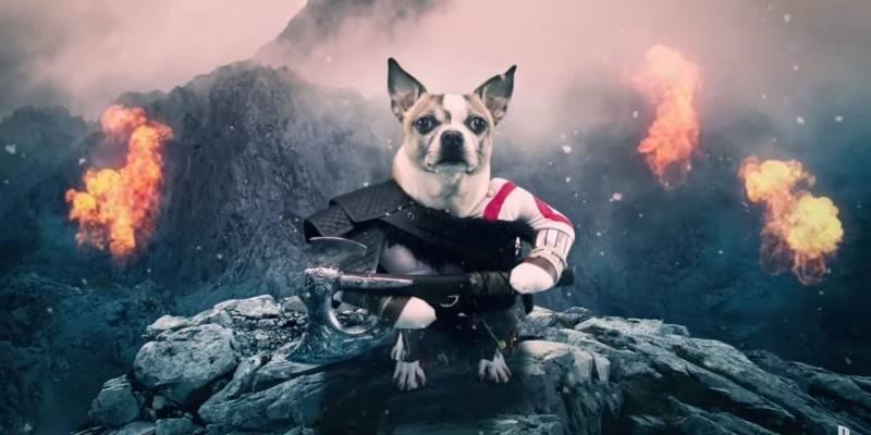 Dog of War: Vean este divertido comercial de God of War con perros
