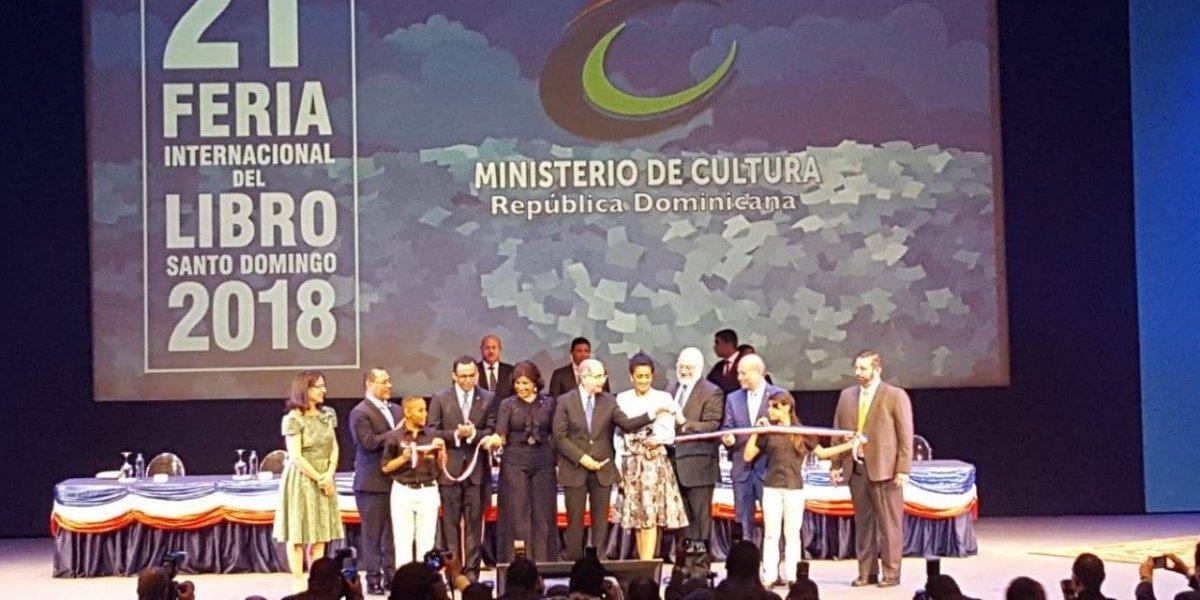 Arranca una transformada Feria Internacional del Libro Santo Domingo