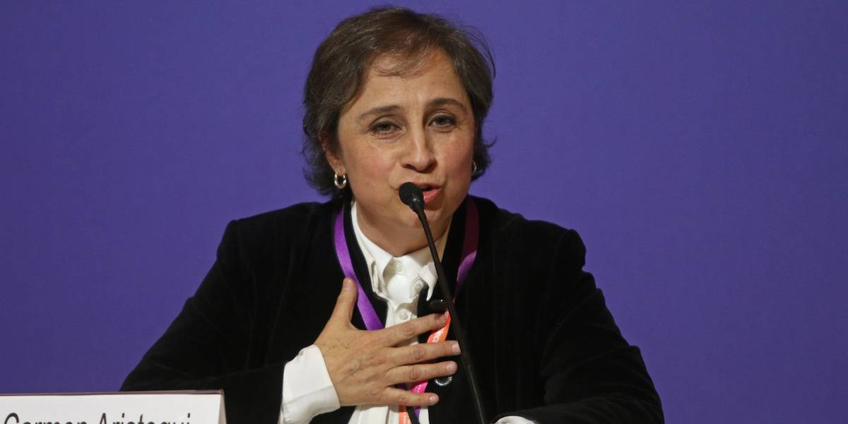 ¿Carmen Aristegui como moderadora de uno de los debates presidenciales?