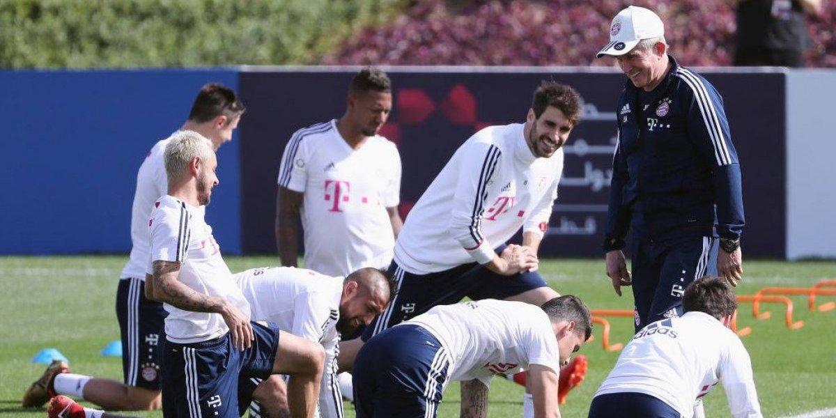 """""""Lucharemos por tí, Arturo"""": Heynckes reveló emotivo momento en el Bayern cuando se lesionó Vidal"""