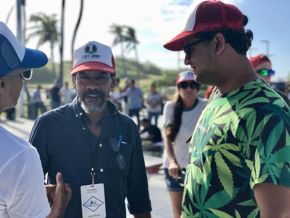 Activistas y defensores del cannabis, abogaron hoy por la descriminalización del uso de la planta. / Foto: David Cordero Mercado