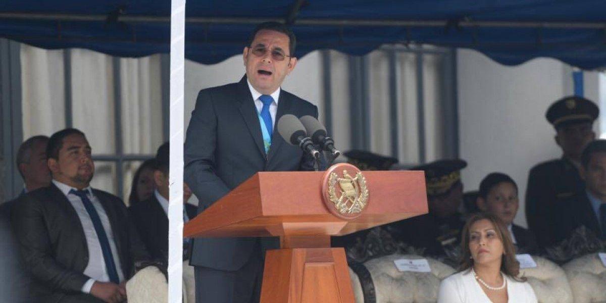 """Informe de EE. UU. señala que una acción de Jimmy Morales """"afectó negativamente la confianza nacional e internacional"""""""
