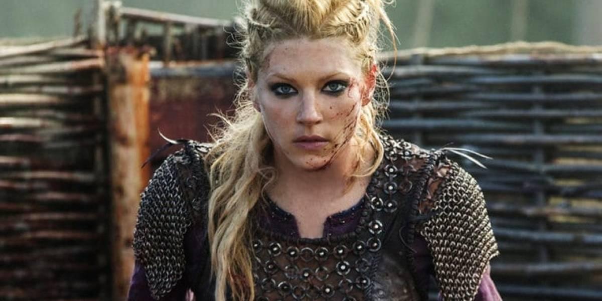 Vikings: cena polêmica de estupro foi feita a pedido de Kateryn Whinick, a Lagertha da série