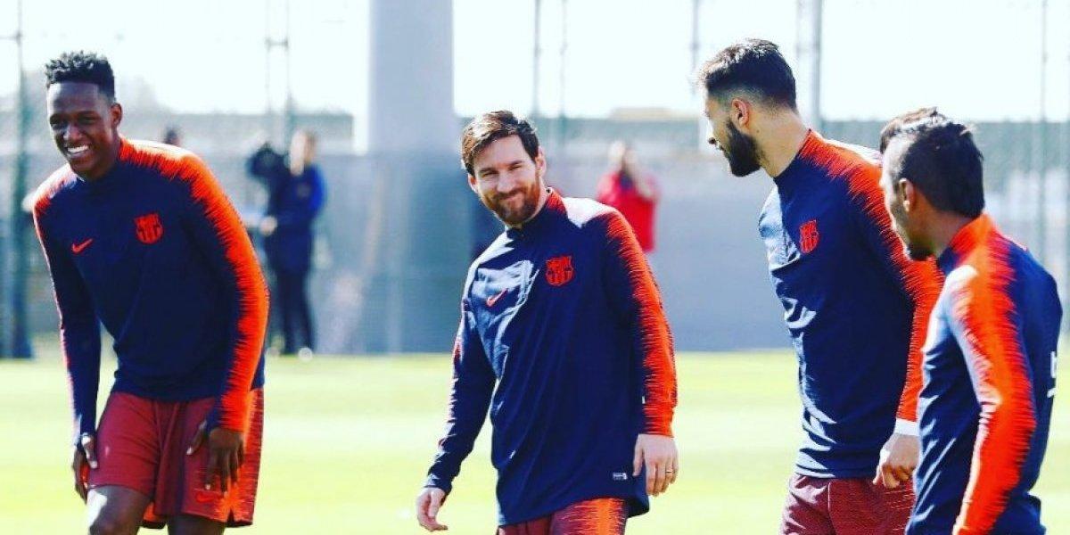El Barcelona está listo para disputar su primer título de la temporada