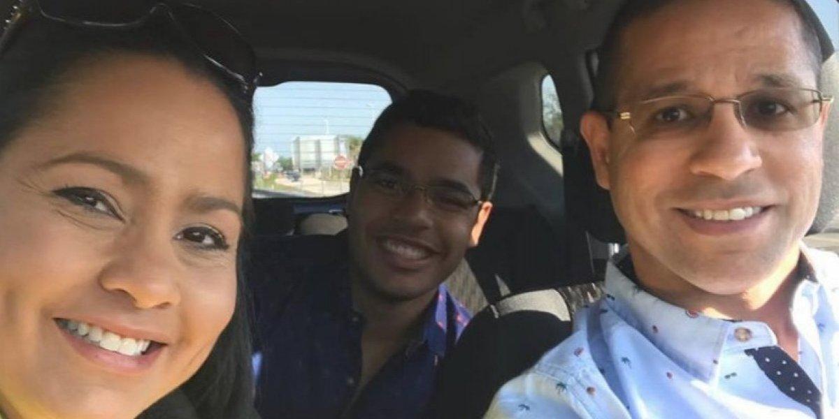 Hijo mayor de Keylla Hernández se va para Estados Unidos