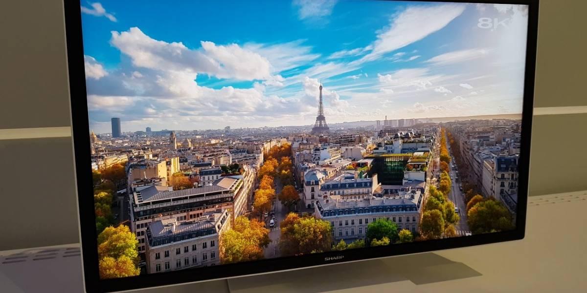Sharp lanza en Europa su nuevo televisor a 8K
