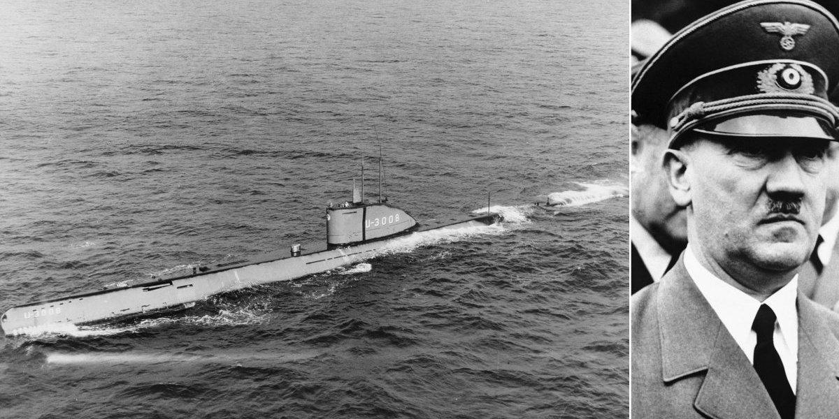 Duro golpe para las teorías conspirativas: encontraron el súper submarino nazi en que habría escapado Hitler a Sudamérica… Y estaba en lugar muy distinto
