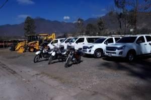 Donativo de equipo de laboratorio para lago de Amatitlán