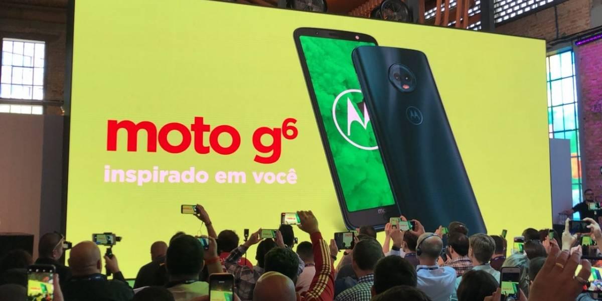 Los nuevos Moto G6 y G6Plus llegan a remecer el mercado de la gama media