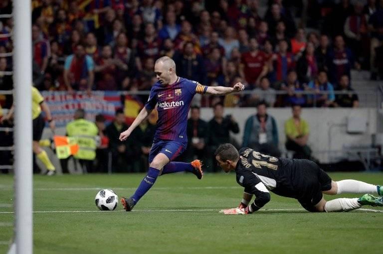 El gol de Iniesta en la final