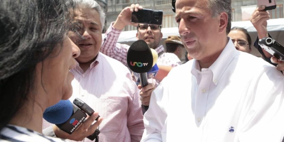 José Antonio Meade recorre set del primer debate presidencial