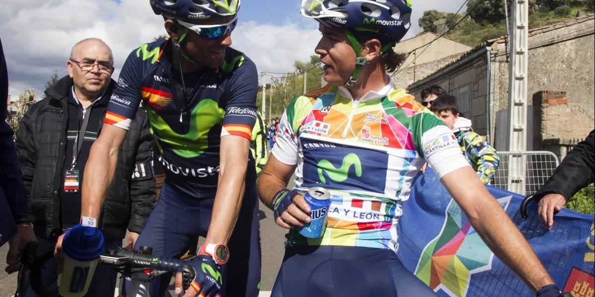 Con Anacona y Betancur, Alejandro Valverde buscará hacer historia en la Lieja-Bastogne-Lieja