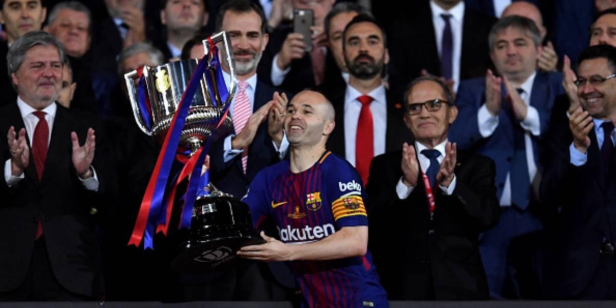 Barcelona: La última Copa de Iniesta, su trigésimo primer título antes del adiós