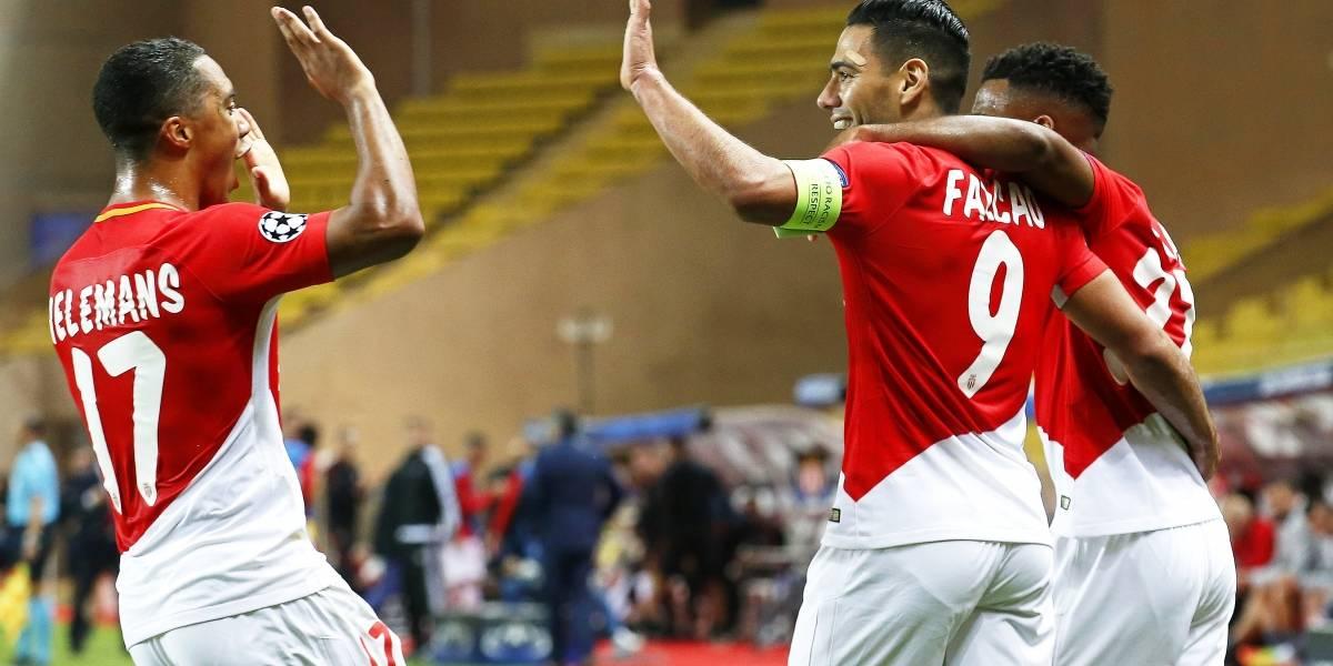 Falcao fue baja por una molestia y Monaco volvió a perder
