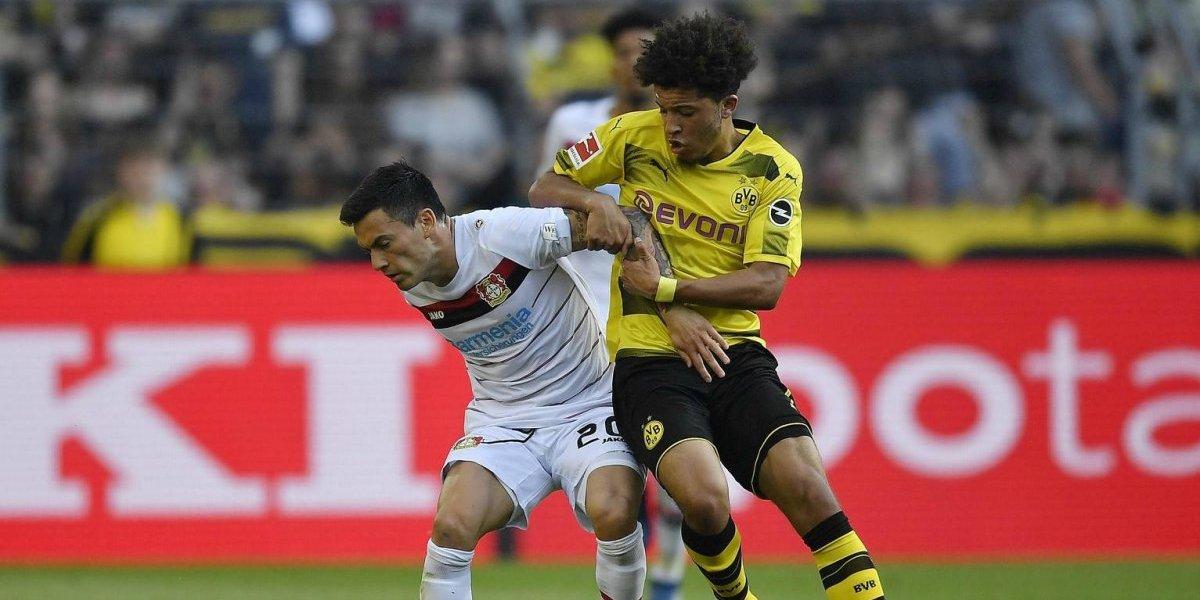La joya Jadon Sancho brilló y guió la paliza del Dortmund al Leverkusen de Aránguiz