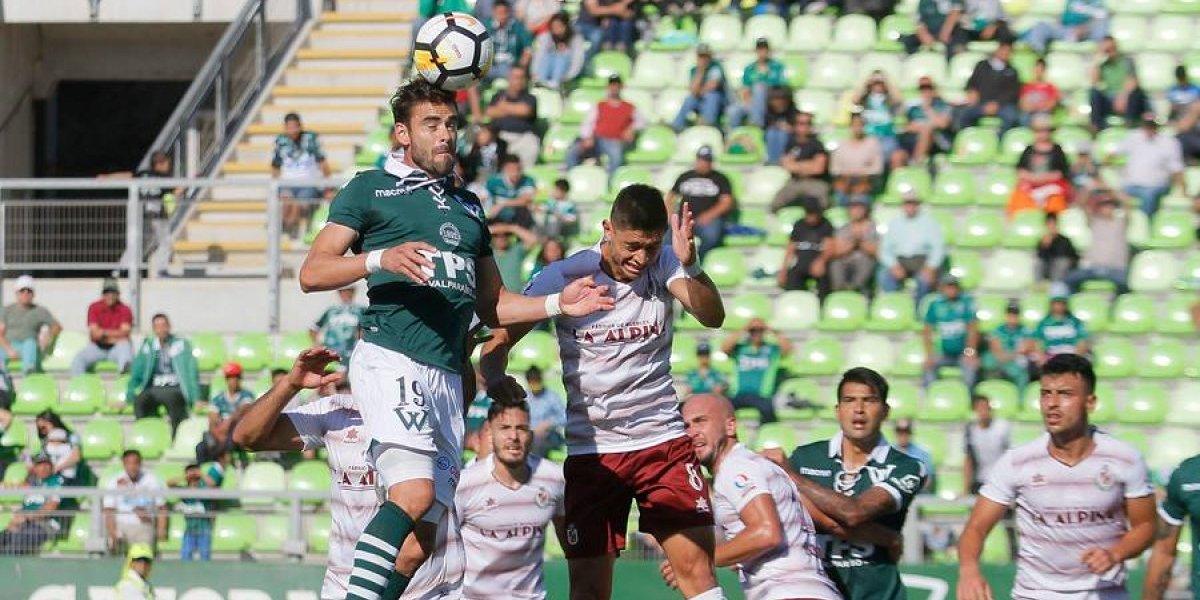 Wanderers no logra imponerse como local sobre La Serena y sigue cerca de la zona de descenso
