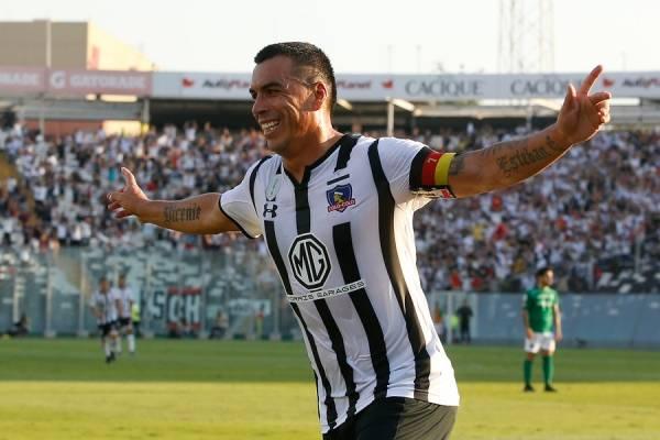 Paredes celebra su gol 200 / Foto: Agencia UNO