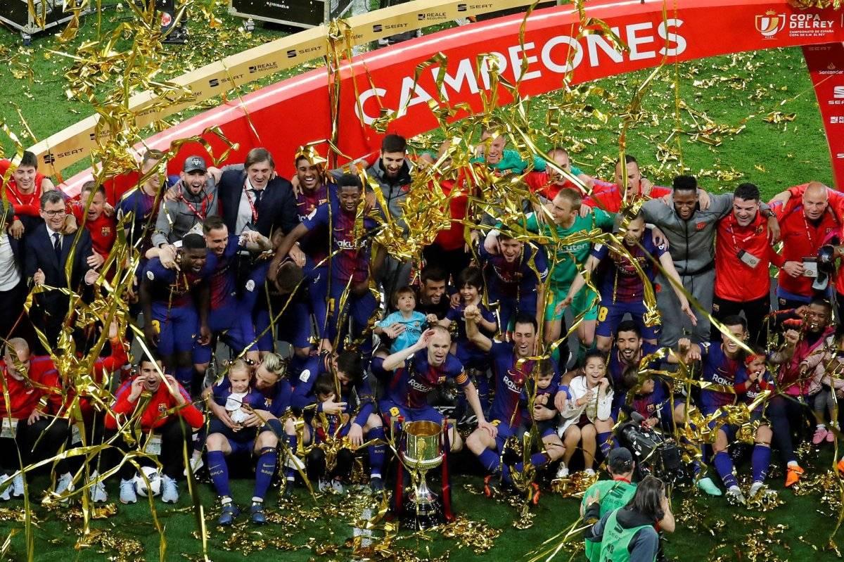 Los campeones de la Copa del Rey 2018