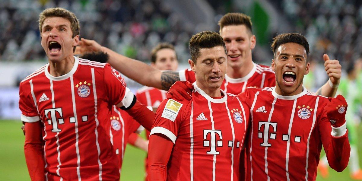 Bayern Munich sigue consolidando su campeonato
