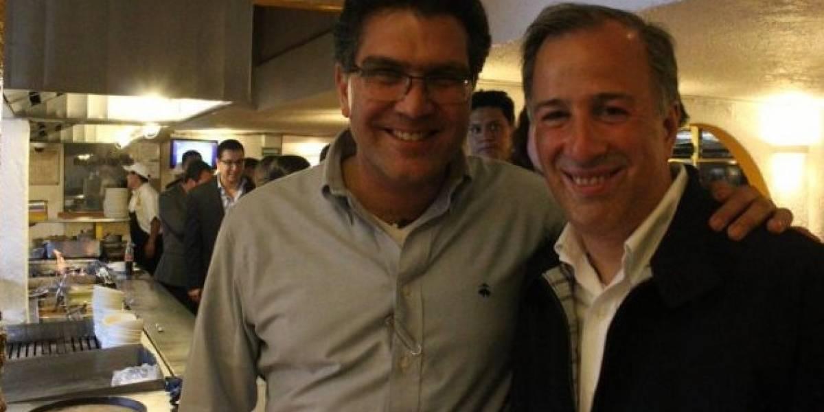 Ríos Piter se une a la campaña de José Antonio Meade