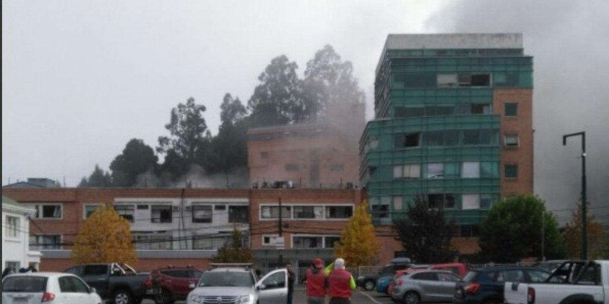 Al menos tres personas fallecidas y 50 heridos: violenta explosión por fuga de gas obliga a evacuar el Sanatorio Alemán en Concepción
