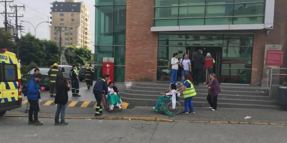 Videos muestran el pánico de pacientes y funcionarios tras explosión del Sanatorio Alemán en Concepción