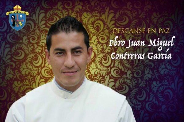 Sacerdote Juan Miguel Contreras García