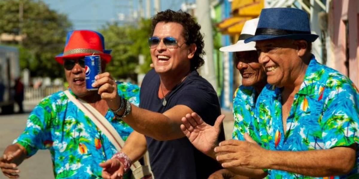 Carlos Vives lanza nuevo himno de Pepsi por la fiebre del fútbol