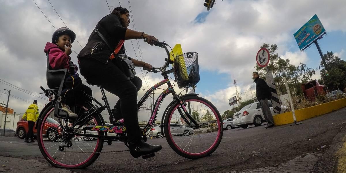 Festejan el primer Día de la Bicicleta en la Ciudad de México