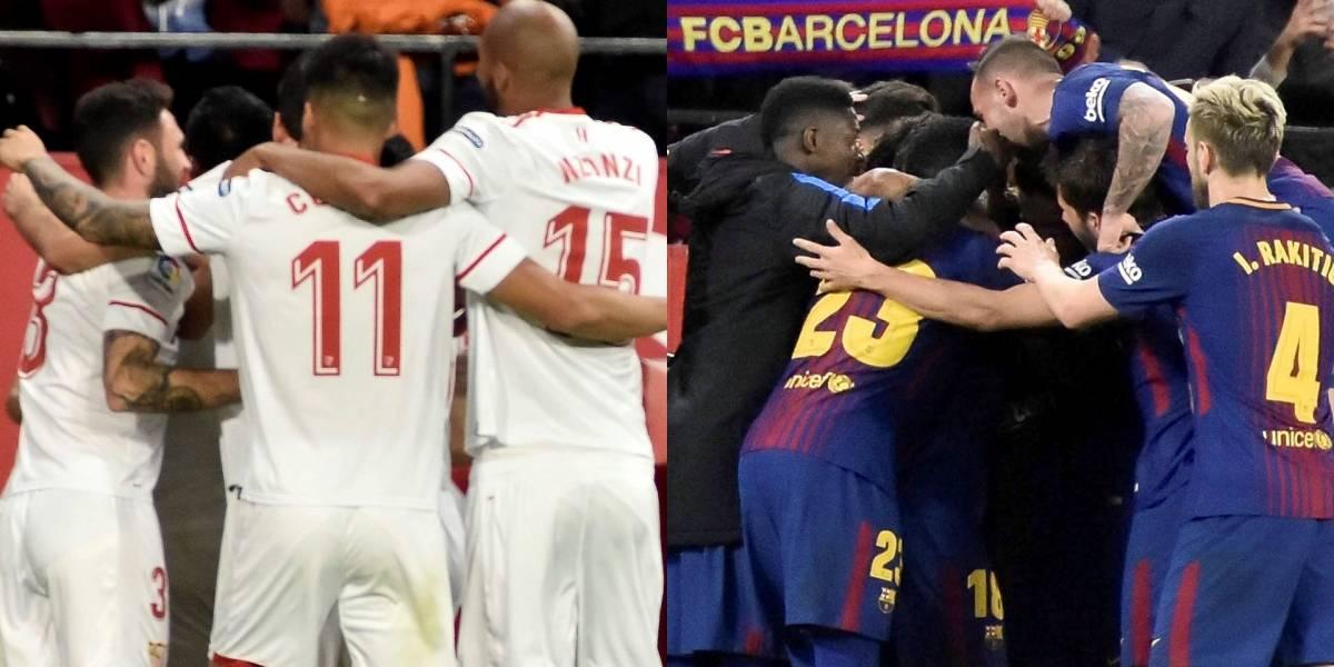 Barcelona VS Sevilla paraliza el mundo del fútbol
