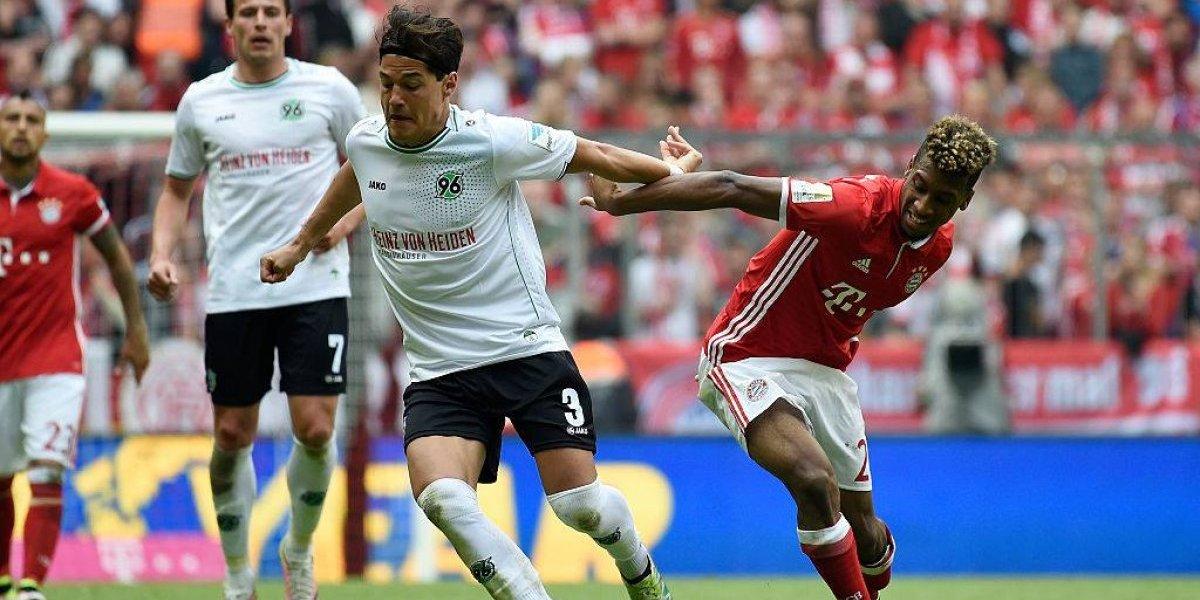 Bayern Munich no extrañó al lesionado Vidal y goleó al Hannover de Miiko Albornoz