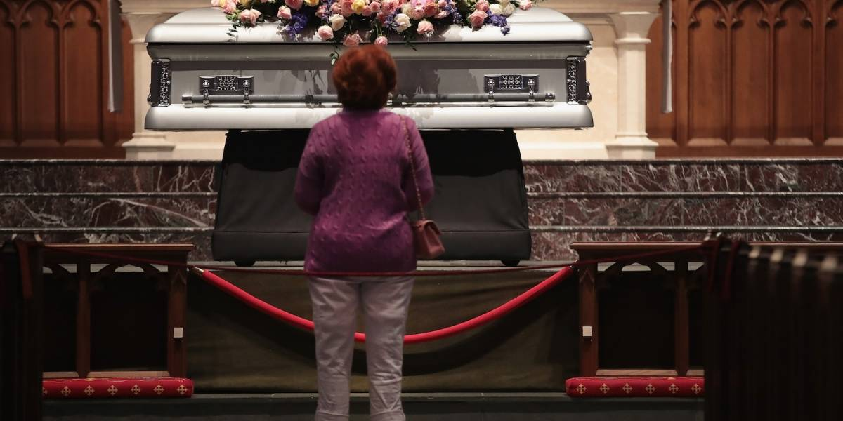 Estados Unidos despide a Bárbara Bush en un solemne funeral