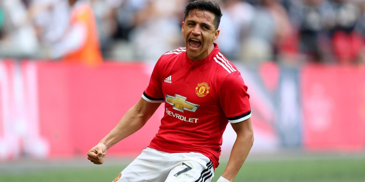 El golazo de cabeza de Alexis Sánchez para el United en semifinales de la FA Cup
