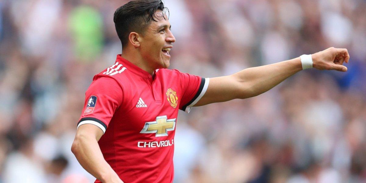 Alexis Sánchez metió a Manchester United en la final de la FA Cup