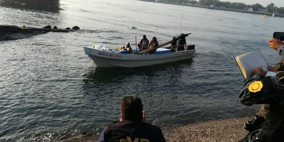 Cuatro guatemaltecos y tres colombianos ligados a proceso por transportar droga en embarcación