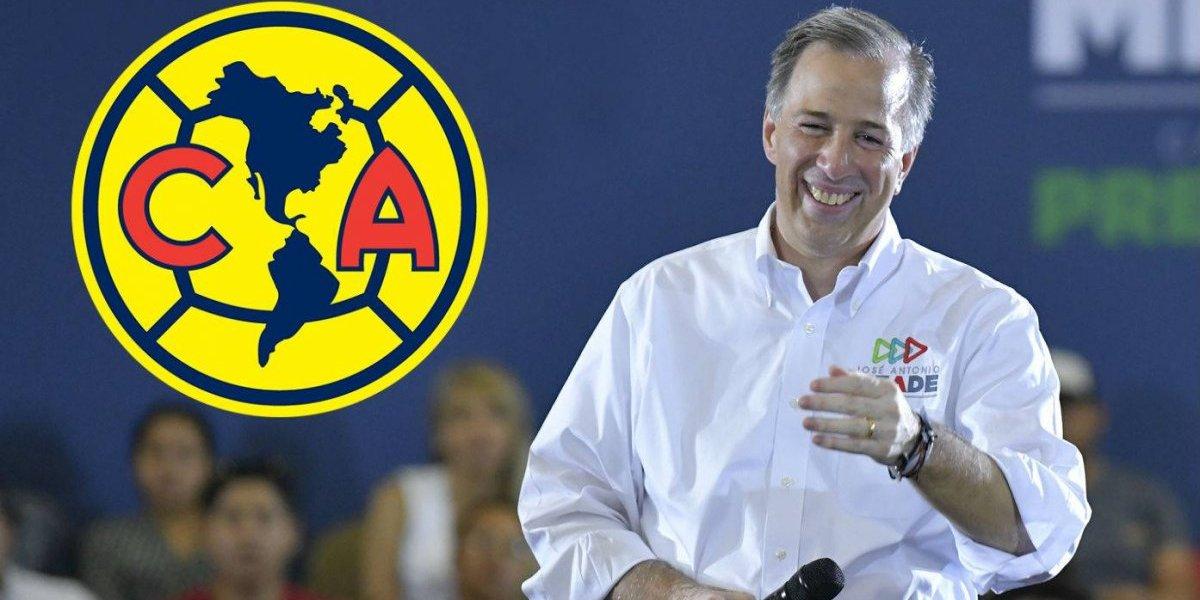 Revelan que José Antonio Meade tiene el voto de los americanistas