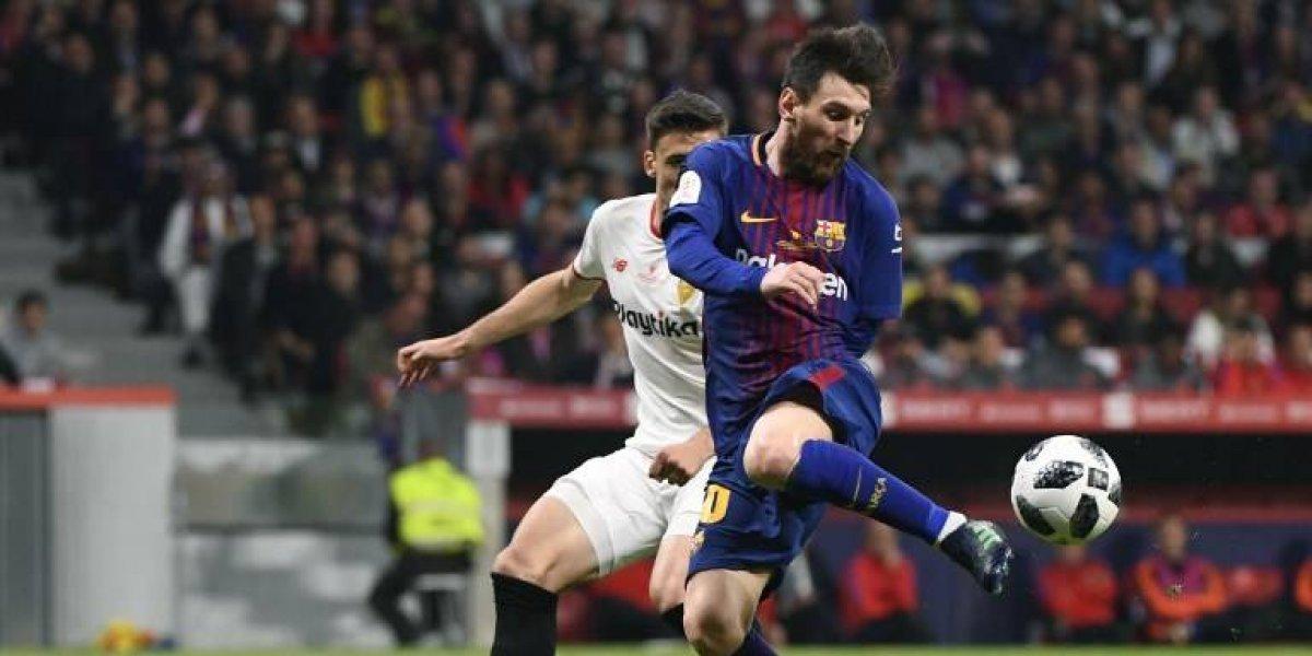 Messi desata la locura con un nuevo récord con el Barcelona