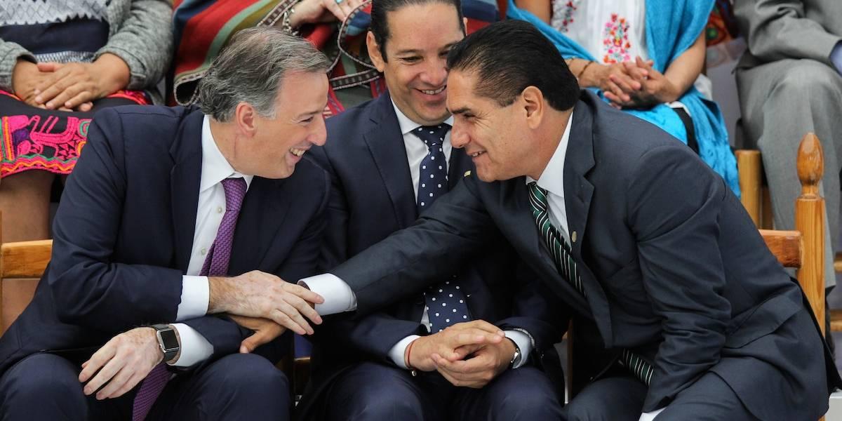 Silvano Aureoles del PRD expresa su apoyo a José Antonio Meade