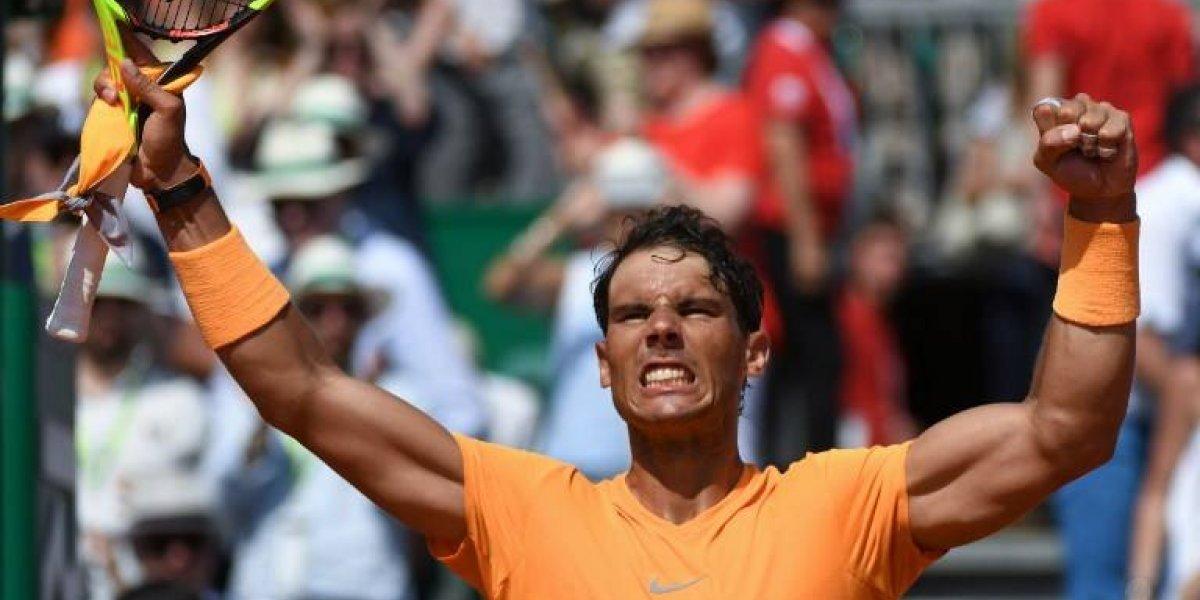Rafael Nadal clasifica a la final y va en busca de la hazaña en Montecarlo