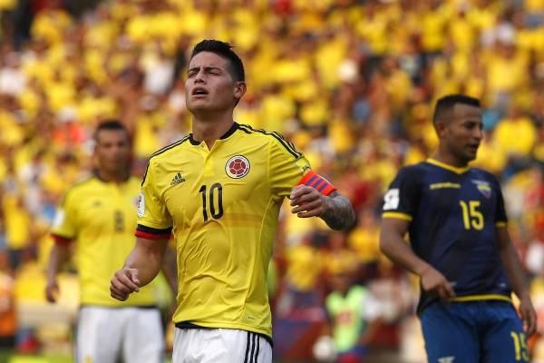 James Rodríguez encendió las alarmas con arriesgada maniobra